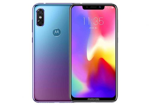 Motorola P30 official with iPhone X design and 6.2-inch display