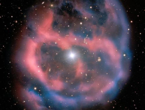 This is what a star looks like when it dies