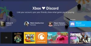 Discord and Xbox live profiles can now be linked