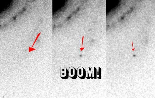 These are the first photos of an exploding star