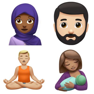 Take a peek at the new iOS emoji arriving later this year