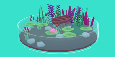 Tiny Worlds In Flasks lets you make cute scenes!