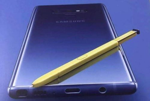Possible Samsung Galaxy Note 9 EU Pricing Details Leak