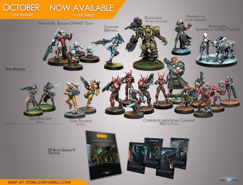 October Releases Available For Infinity
