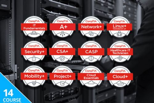 Save Hundreds On 140+ Hours Of CompTIA Certification Training