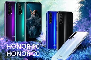Honor 20 Pro lands with record lens aperture and 'holographic' design