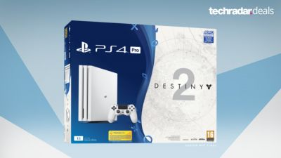Save £50 on this white PS4 Pro bundle with Destiny 2