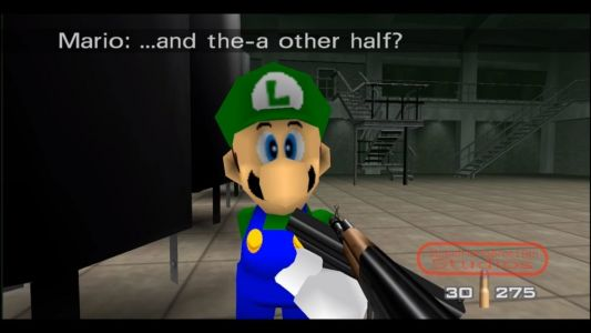 Mario Dresses Up as James Bond in Awesome GOLDENEYE 007 Mod