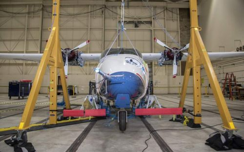 NASA's all-electric X-57 Maxwell aircraft is ready for some power