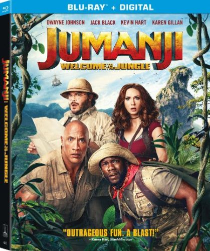 'Jumanji: Welcome to the Jungle' 4K, Blu-ray, Digital and DVD Release Dates and Details