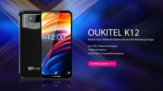 OUKITEL K12 with 10.000 mAh battery and 6,3″ FHD+ screen on the way