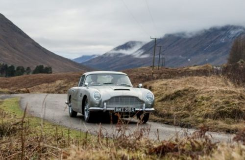 James Bond's iconic Aston Martin DB5 is being produced - with gadgets