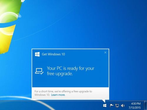 If you're still on Windows 7, would a free upgrade offer make you switch?