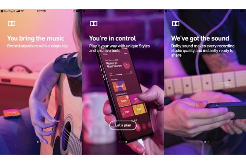 Dolby made a secret app for recording studio quality audio on your phone