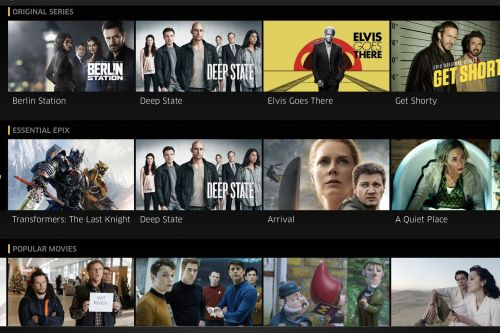 MGM's Epix Now streaming service is now available on Roku and Amazon Fire TV