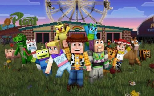 Minecraft Toy Story mashup lets you see the world from toys' eyes