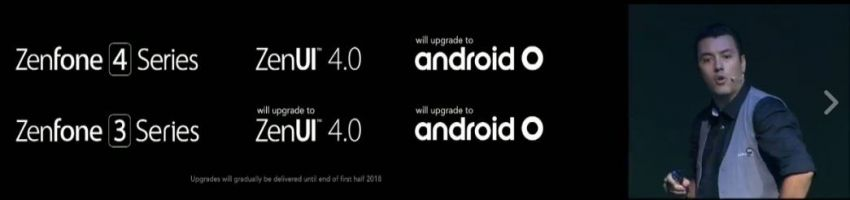 Official: ASUS ZenFone 3, ZenFone 4 Units Will Get Android O