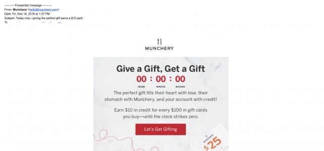Failed meal-kit service Munchery owes $6M to gift card holders, vendors