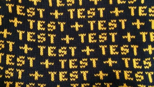 New skills: how to knit your own typography