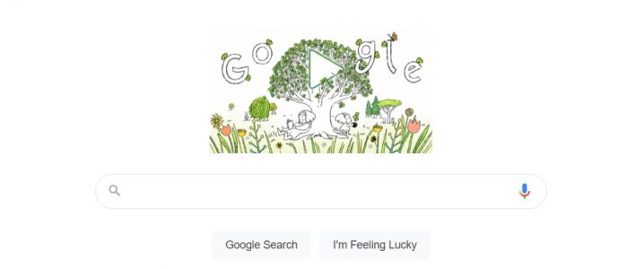 Google Earth Day 2021 Doodle Tackles Trees' Importance in Restoring Earth-Five Google Datacenters to be Carbon-Free by 2030