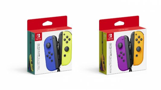 Normal Nintendo Switch Gets Better Battery, New Joy-Con Colors