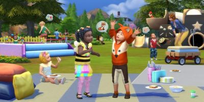Imprison toddlers in ball pools with incoming Sims 4 toddler stuff pack