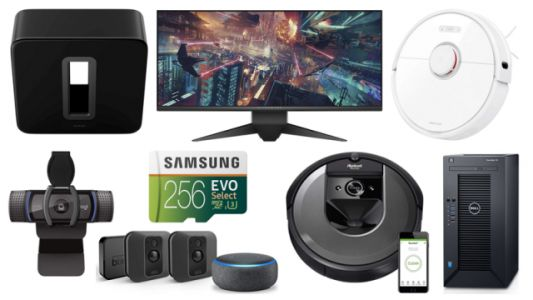 ET Deals: 34-inch Alienware Curved Monitor for $600, $300 off iRobot Roomba i7, PowerEdge T30 for $299