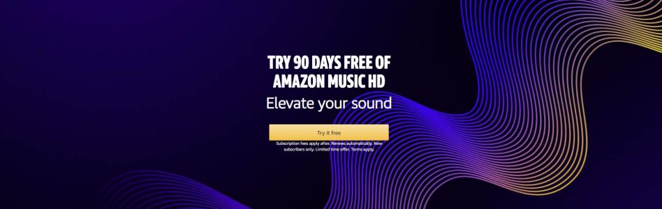 UK Daily Deals: Get a 90-Day Trial of Amazon Music HD for Free, Save 40% off Creative Cloud All Apps