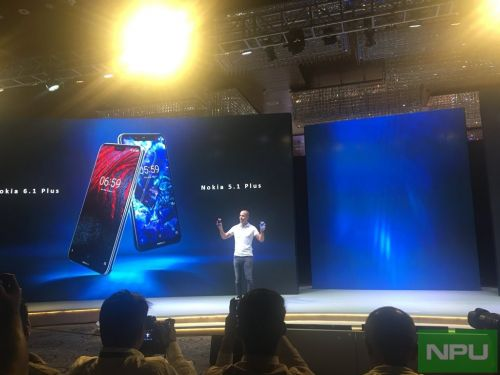 Nokia 6.1 Plus & 5.1 Plus officially launched in India. Details inside