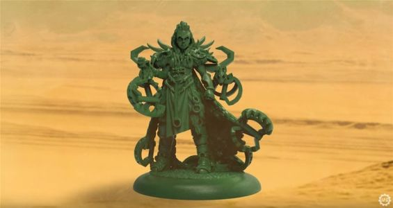 Steamforged Previews New Hunter's Captain