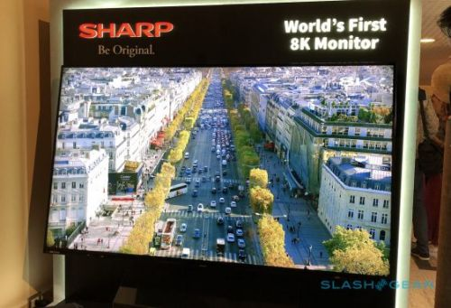 Sharp's 8K TV looks incredible