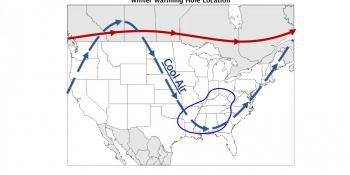 Polar Vortex Defies Climate Change in the Southeast