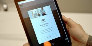 Hands-on with Cadillac Live digital shopping service