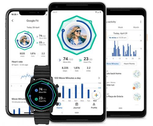 Google Fit getting major redesign with Move Minutes and Heart Points