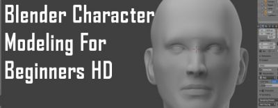 Now Available on Steam - Blender Character Modeling For Beginners HD, 10% off!