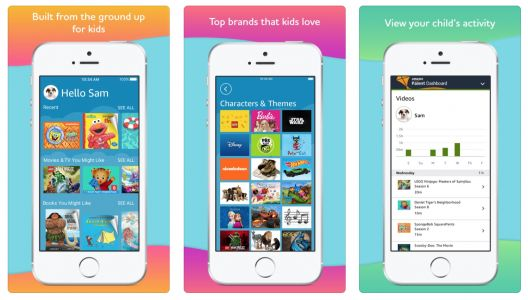 Amazon brings its kid-friendly FreeTime Unlimited app to iOS