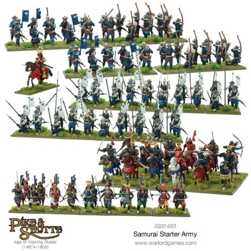 Warlord Games Taking Pre-Orders for Samurai Starter Forces For Pike & Shotte
