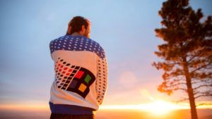 Check out Microsoft's sick, new Windows ugly holiday sweater 'softwear'