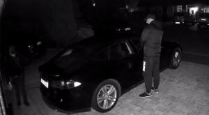 Thieves Caught on Video Stealing Tesla With Key Fob Relay Hack