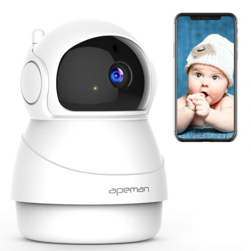 Watch over home from anywhere with 35% off Apeman's Wireless Security Cam