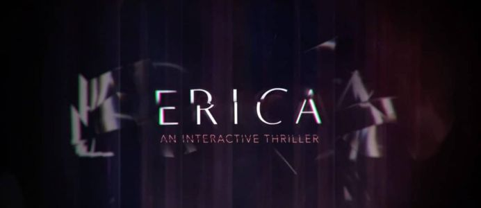 Gamescom 2019:  Erica, un thriller interactif en live-action sur PS4
