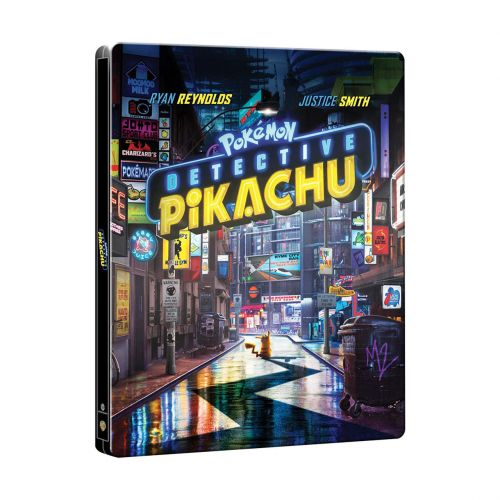 Detective Pikachu Available For Pre-Order On DVD And Blu-Ray, Includes 4K And Steelbook