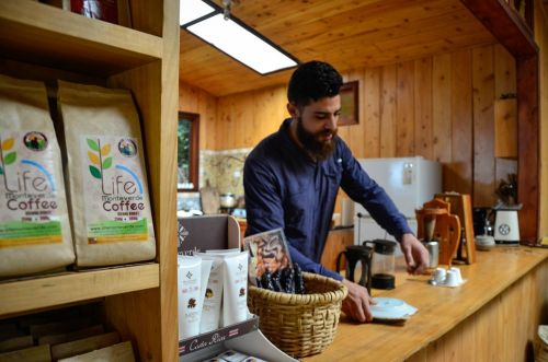 I visited an offbeat coffee-making hotspot that could save the industry - here's what it was like