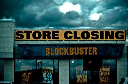 Two of the last Blockbusters just closed in Alaska, leaving but one survivor