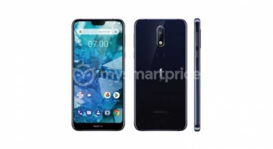 First HD render of Nokia 7.1 Plus with small notch leaks online