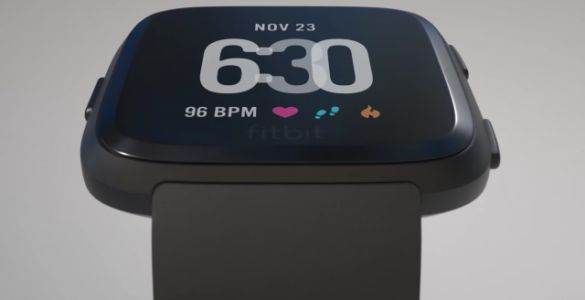 The Fitbit Versa looks like the true successor to the Pebble Time Steel