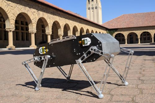 Stanford's Doggo is a petite robotic quadruped you can build yourself