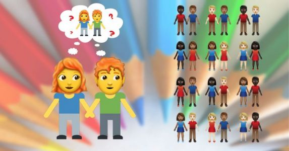 Emoji update proposal includes 55 different couples - where are the gingers?