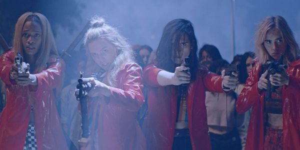 Thriller 'Assassination Nation' had its ads turned down by YouTube and Facebook for controversial imagery