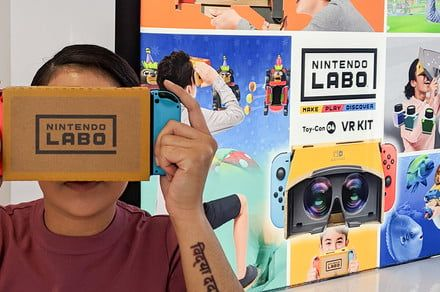 Nintendo Labo VR Headset Hands-on Review